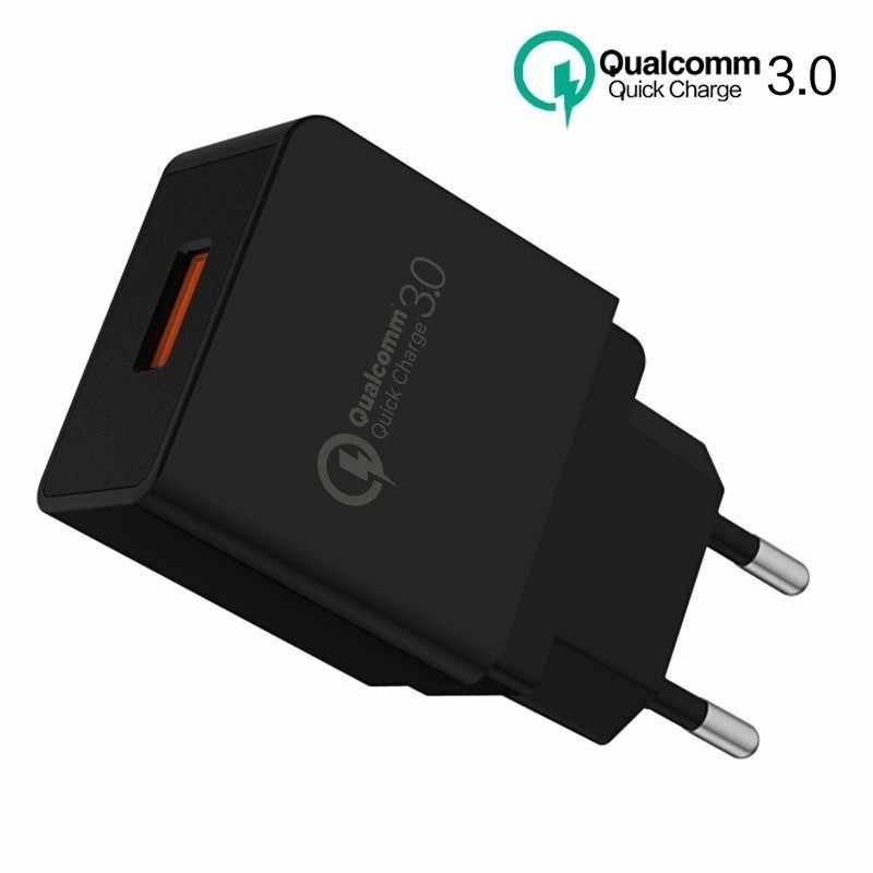 SONOVO Phone Charger Quick Charge 3.0 5V2A/9V2A/12V 18W Universal USB Charger QC3.0/2.0 Fast travel for Samsung LG Xiaomi Huawei