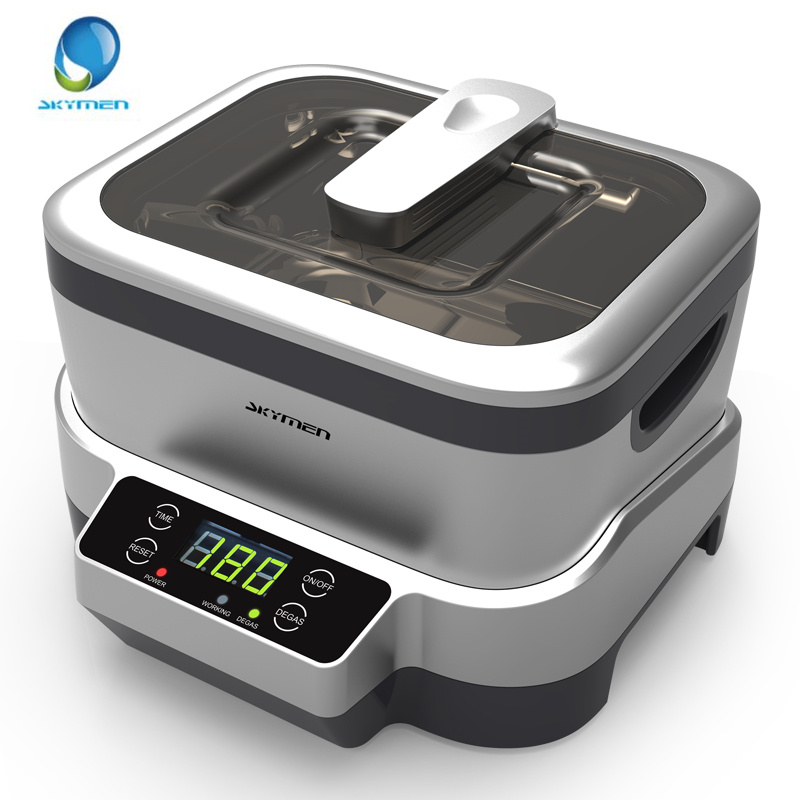 SKYMEN 1 2L 110 240V Digital Ultrasonic Cleaner Ultrasound Bath Cleaning Machine Sterilizer Cleaner Sterilizing Disinfection