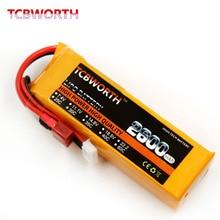 TCBWORTH RC lipo battery 18.5v 2600mAh 35C 5s FOR  RC airplane drone quadrotor batteria akku free shipping