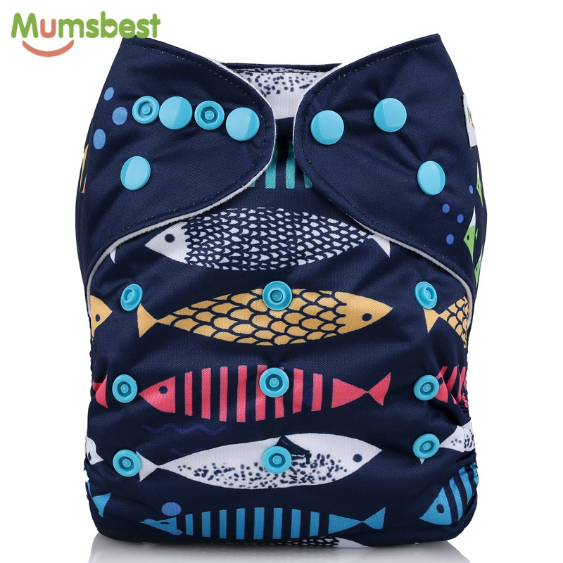 [Mumsbest] New Arrival Baby Cloth nappies With  Microfiber Insert Positioned Digital Pocket Diaper Reusable Cloth diapers