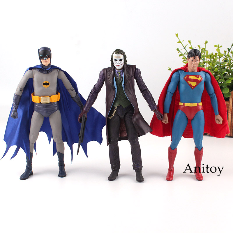 Superman Vs. Batman Joker 1/8 scale painted PVC Action Figure Collectible Model Toy 18cm KT2187 neca superman batman the joker pvc action figure collectible model toy 7 18cm 3 styles free shipping