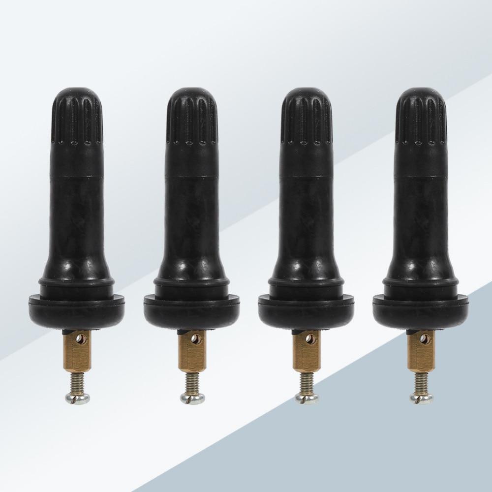 Датчик стволовых клапанов 4 шт. TPMS система контроля давления в шинах Анти-взрыв оснастки в шинах стеблей клапанов оснастки в шинах стебли клапанов