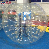 High quality 1.0mm PVC 1.5m colorful inflatable bubble ball factory price air bumper ball body zorb ball for sale for childern