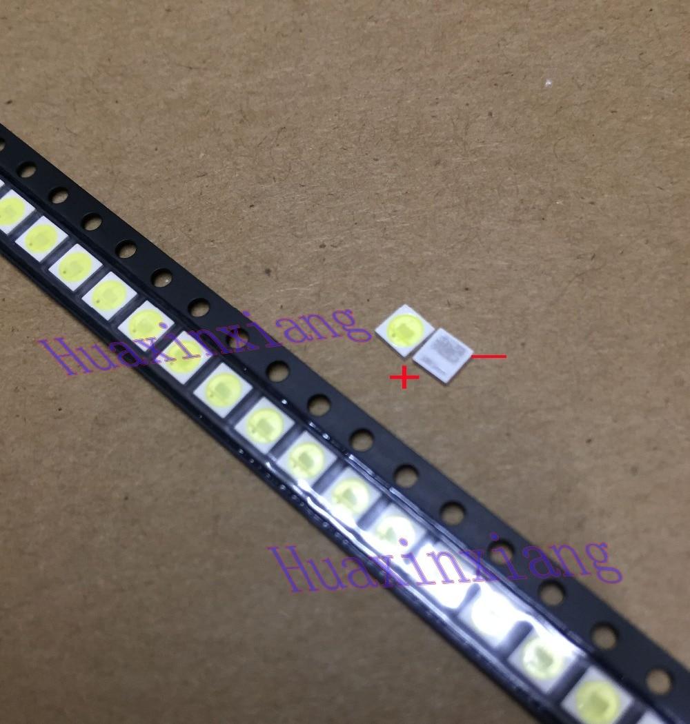 100PCS/Lot Jufei 1W 3030 3V SMD LED Cold White 3.0*3.0*0.6mm For TV Backlight
