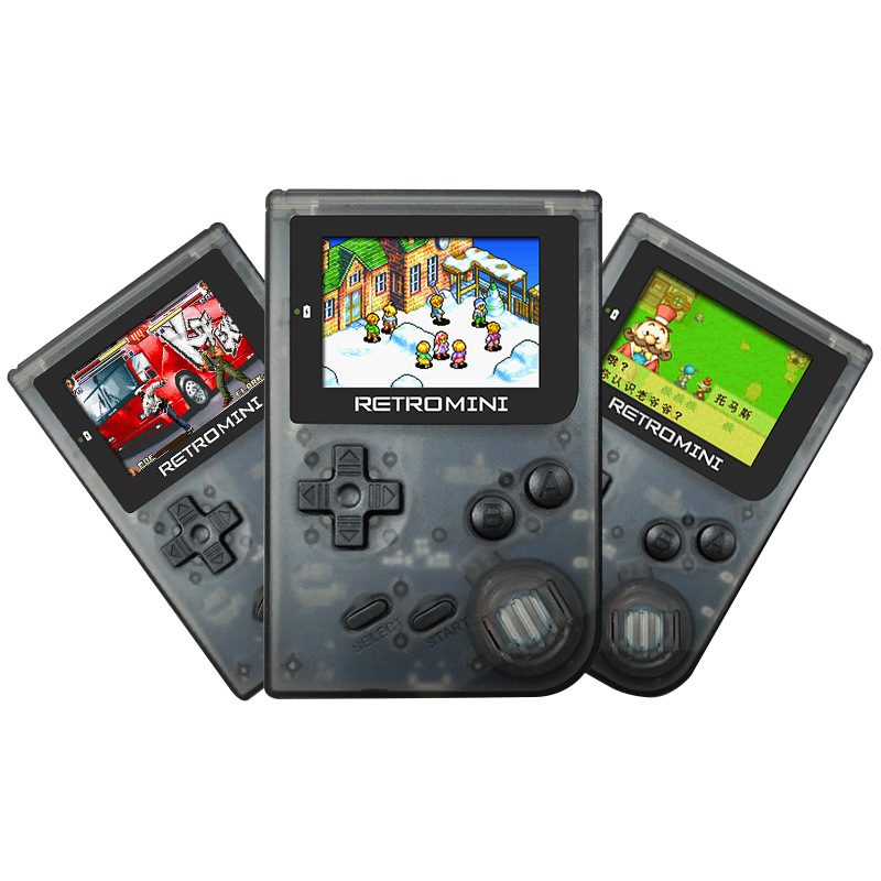 ONETOMAX Retro Game Console 32Bit Portable Mini Handheld Game Players Built-in 36 Games For GBA Classic Games Best Gift For Kids
