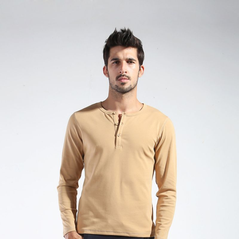 Compare Prices on Long Sleeve Henley- Online Shopping/Buy Low ...