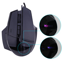 7 Buttons Computer Mouse Optical USB Wired Gaming Mouse Professional Game Mice for Laptops Desktops L3FE