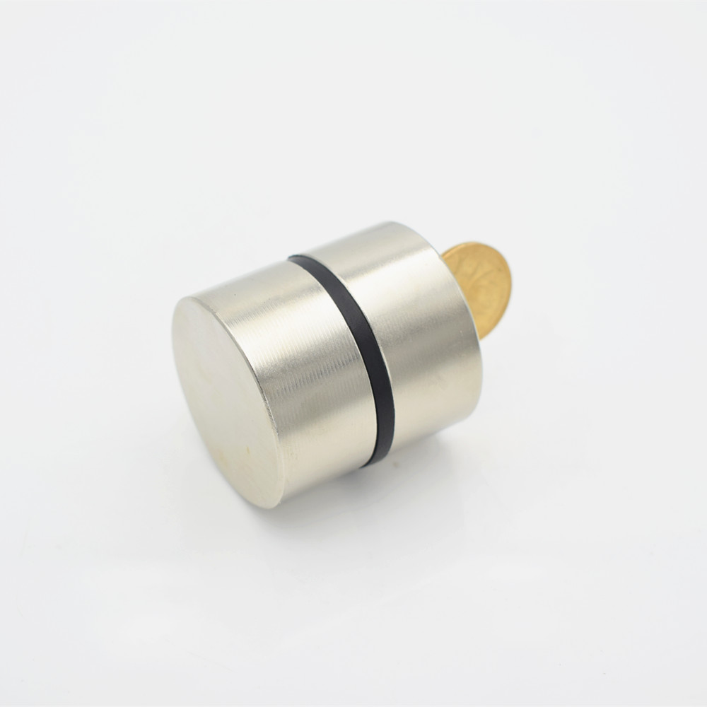 Image 5 - 2pcs Neodymium Magnet N52 40x20 mm Super Strong Round Rare earth Powerful NdFeB Gallium metal magnetic speaker N35 40*20 Disc-in Magnetic Materials from Home Improvement