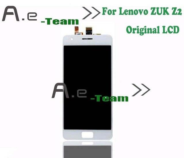 Pantalla lcd de alta calidad para lenovo zuk z2 100% nuevo pantalla lcd + asamblea de pantalla táctil del reemplazo para lenovo zuk z2 Smartphone