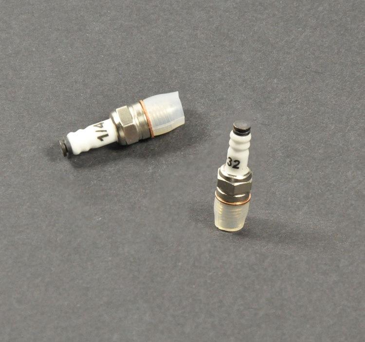 1pcs Engine Parts Rcexl RC Model Gas Engine ME-8 1/4-32 Spark Plug метчики 1 4 32
