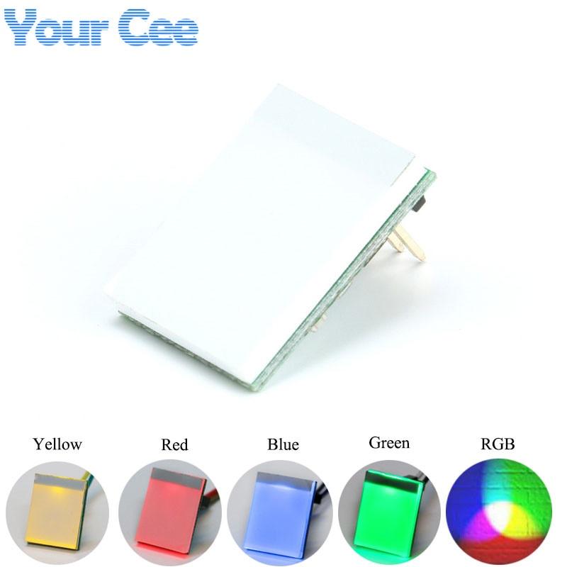 5 шт., 5 цветов * 1 серии, сенсорный выключатель, сенсорный экран, светодиодный, электронный, желтый, зеленый, красный, синий, RGB