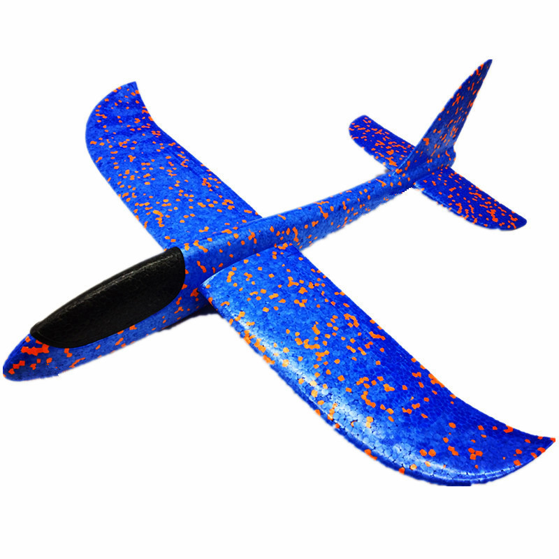 36cm DIY Hand Throw Flying Glider Planes Toys For Children Foam Aeroplane Model Party Bag Fillers Flying Glider Plane Toys Game image