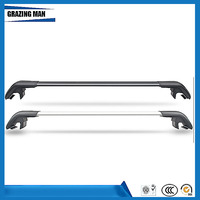 Car Accessories High quality 2 PCS  Aluminium alloy roof rack rail cross bar fit for EcoSport Luggage Carrier