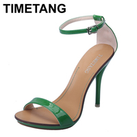 New Arrived Vogue 10 Color Women T Stage Clasic Dancing High Heel Sandals Party Wedding Shoes