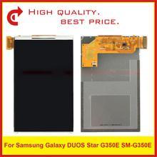 10 ชิ้น/ล็อตสำหรับ Samsung Galaxy Star 2 Plus SM G350E G350E จอแสดงผล Lcd จัดส่งฟรี + รหัสติดตาม