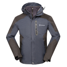 Inverno 3in1 Impermeabile Escursioni Outdoor Campeggio Uomini Giacca Arrampicata Sportiva del Cappotto di Sci Giacca A Vento In Pile Fodera Jaqueta Masculino
