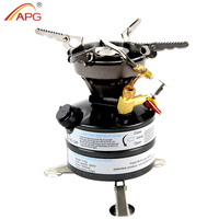 APG Liquid Fuel Camping Gasoline Stoves Portable Outdoor One Piece Kerosene Burners Cooker For Outdoor Picnic