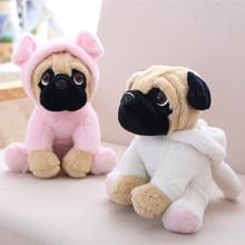 20 см мягкая модель собак плюшевые Шарпей Мопс Прекрасный щенок Pet плюшевая игрушка Детские игрушки Дети на день рождения рождественские подарки