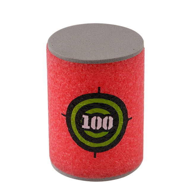 6PCS Foam Drink Bottle Bullet Training Supplies Toy Targets Shot Dart Nerf Set for N-strike Fixed Elite Games Soft  Annex Toys 1