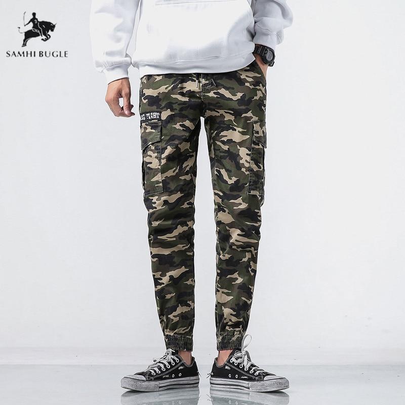 2018 Männer Mode Streetwear Herren Jeans Jogger Hosen Jugend Casual Sommer Knöchel Banded Hosen Marke Boot Cut Europäischen Jeans Hosen 100% Original