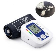 Дома Здоровье и гигиена танометр 1 шт. цифровой ЖК предплечье Приборы для измерения артериального давления Мониторы Heart Beat Meter машина тонометр для измерения автоматический