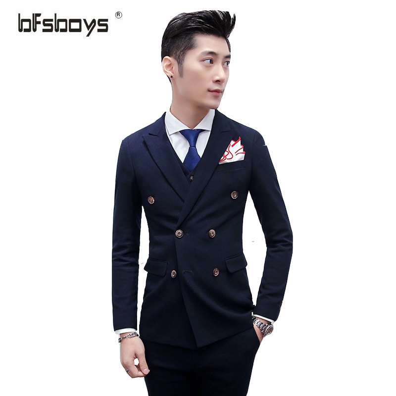Purple Double Breasted Suit Promotion-Shop for Promotional Purple