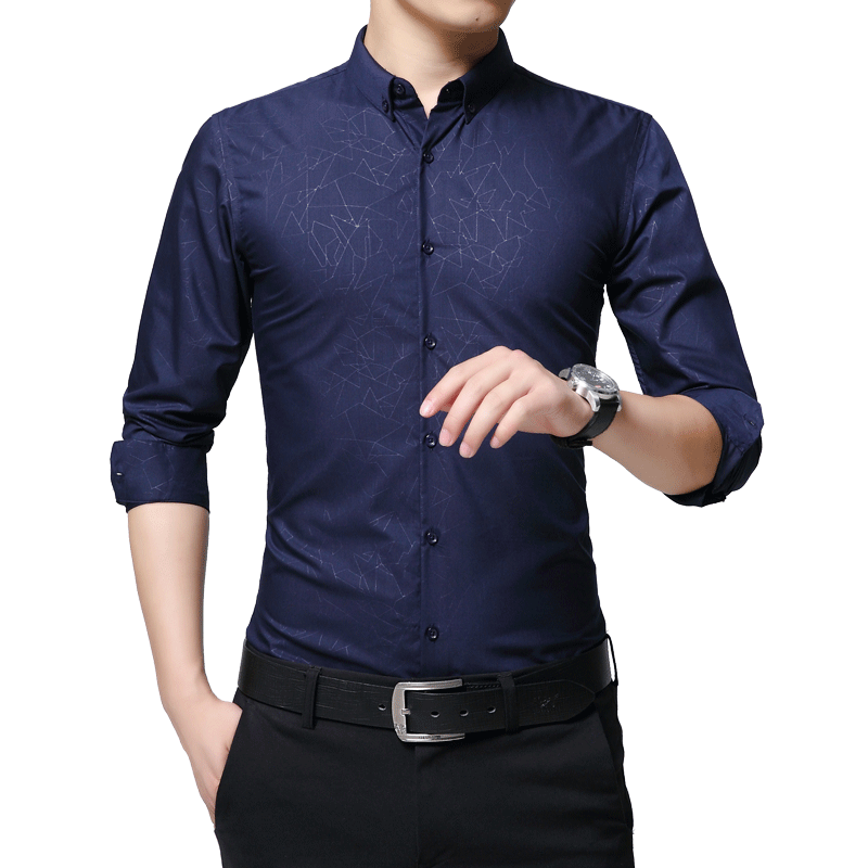 Buy 2018 spring new new fashion casual for Where to buy casual dress shirts