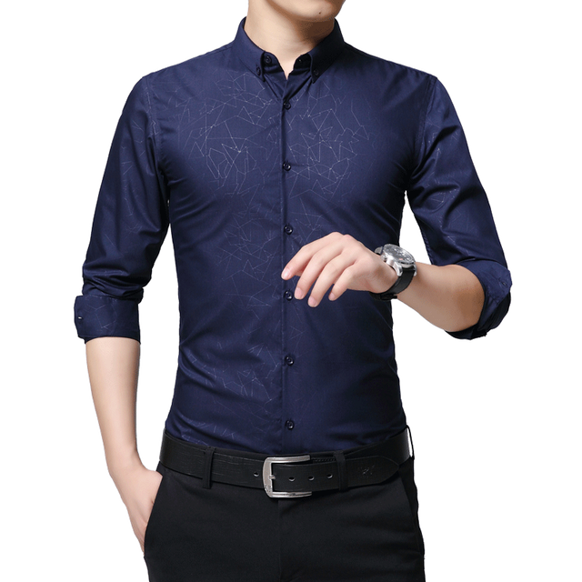 Buy 2018 spring new new fashion casual for Best place to buy mens dress shirts