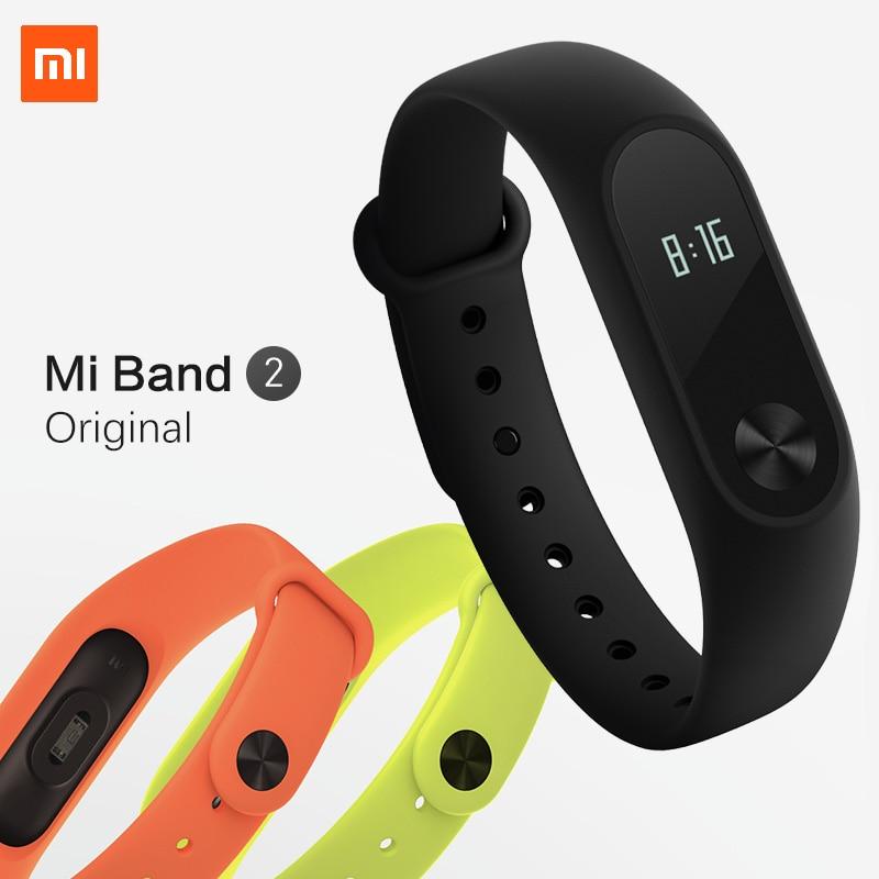 Xiaomi Mi Band 2 MiBand 3 Pulse Smart Sport Sleep Heart Rate Monitor Bracelet Fitness Tracker Wristband IP67 Waterproof Strap