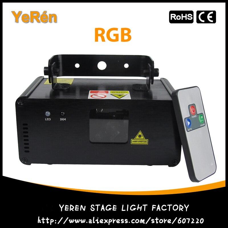 Микро Ray DMX512 лазерные огни RGB Цвет дистанционного Управление
