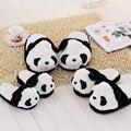 De Algodón Suave lindo Panda Juguete Encantador de la Felpa Del Cabrito Zapatillas Familiares