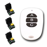 AC 220V Wireless Remote Control Switch Remote Power Control Switch For Lighting Motor Curtain Relay Module