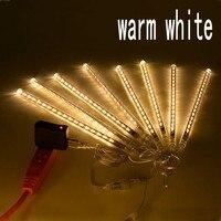 8PCS SET 240 Leds 50CM Meteor Shower Rain Tubes AC100 240V LED Christmas Lights Wedding Party