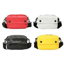 2019 Fashion Elegant Women Mini Messenger PU Leather Satchel Handbags Crossbody Bag Small Shoulder Bags