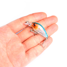 цена 45mm 4g Topwater Minnow Fishing Lures Artificial Hard Bait Swim Fish Wobblers Floating Crankbait Carp Fishing онлайн в 2017 году