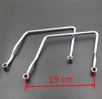 19cm Luggage Saddle bag Support Bar Mount BracketFor Honda Shadow Aero VT 750 600 VLX Yamaha Vstar 650 400 V star Custom