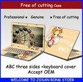 Свободной Резки Ноутбук Случае Ноутбук Кожи Ноутбук Покрытие Защитной Пленки Наклейки кожи Ноутбук Для Asus K450 D451 14 дюймов Все крышка