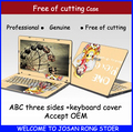Free Cutting Laptop Case Computer Skin Notebook Cover Protective Film Skin Laptop Stickers For Asus K450 D451 14 inch All Cover