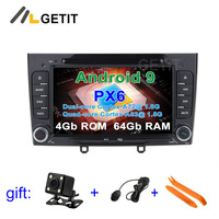 PX6 Android 9 Car DVD Video Player GPS Navigation for Peugeot 408 308 308SW Audio Radio Stereo Head Unit
