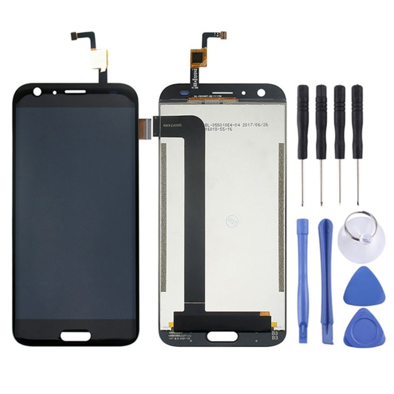 iPartsBuy High Quality LCD Screen and Digitizer Full Assembly Lcd Replacement Glass for Doogee BL5000 With