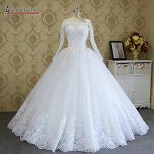 Amanda Novias High end Quality Custom Made Wedding Dresses 2018