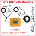 LCD display ! Mini 4G LTE DCS 1800Mhz booster W/ Cable+2 indoor Antennas,DCS repeater signal amplifier DCS booster repeater kits