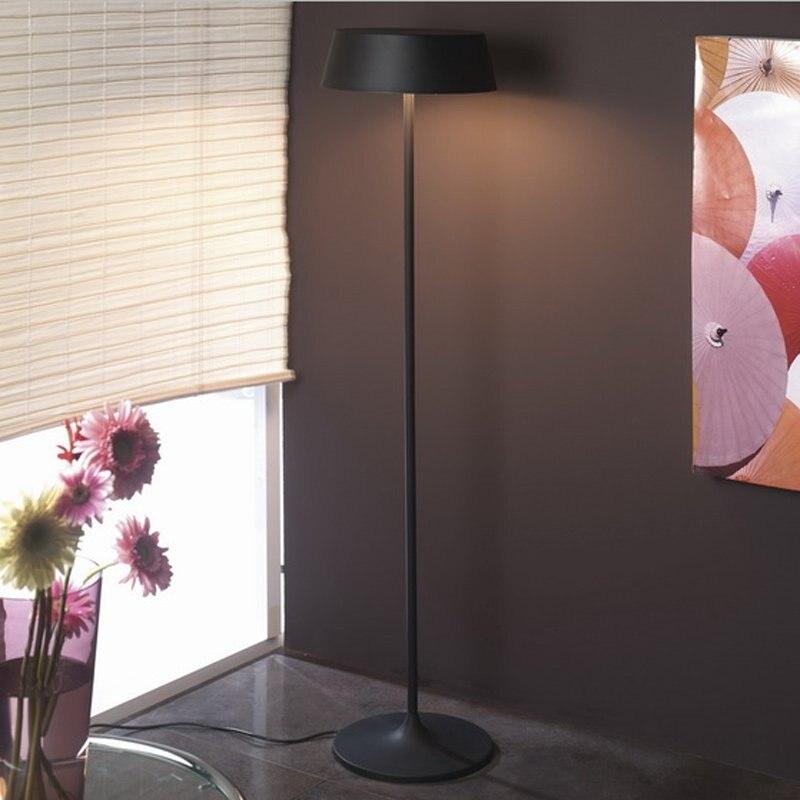 Aliexpress Buy White Red Black Modern Luxury Floor Lamp Led Reading Italian Design Lamps Vintage Living Room Decorative Home Lighting FL 12 From