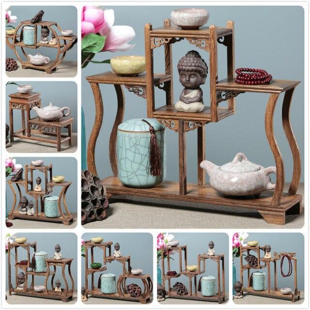 China Antiken Regal Spielzeug Stehen Wenge Holz Ornament Palisander Desktop  Dekoration Wohnzimmer Tischdekoration Schreibtisch Tab Seri