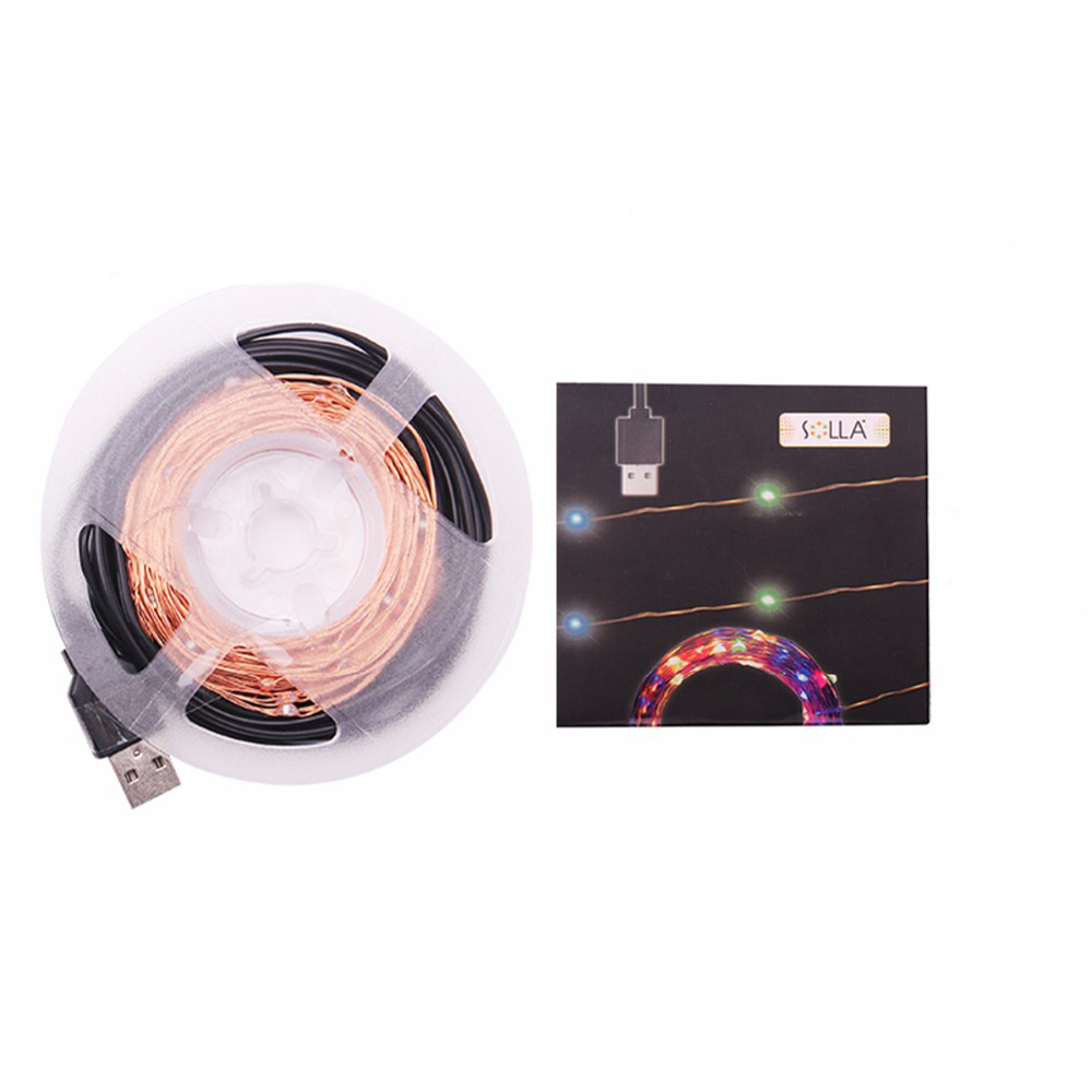 Led String Lights Usb : New Year 10M 100 led USB Outdoor Led Copper Wire String Light Christmas Festival Wedding Party ...