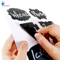 32pcs/set  Blackboard Sticker Craft Kitchen Jars Organizer Labels Chalkboard Chalk Board Sticker 5cm x 3.5cm Black Board
