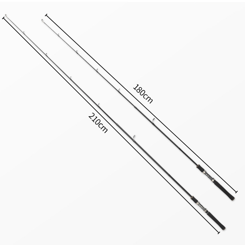 Lure Rod 1.8m 10-25g Fiber Car Spinning Lure Fishing Rod Power: M - Memancing - Foto 3