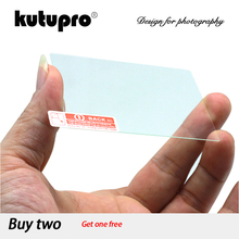 KUTUPRO 9H Tempered Glass LCD Screen Protector for Canon EOS