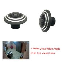 HD 1.78mm 5 Megapixel Panorama FishEye Ultra CCTV Lens For CCTV HD AHD/TVI/CVI/CVBS 1080P Wireless Network CCTV Camera цена и фото