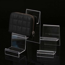 Hot Acrylic Transparent Display Shelf Mobile book Wallet Glasses Rack Multilayers Cellphone Jewellery Display  Stand Packaging цены